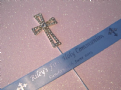 Holy Communion cake topper & personalised ribbon